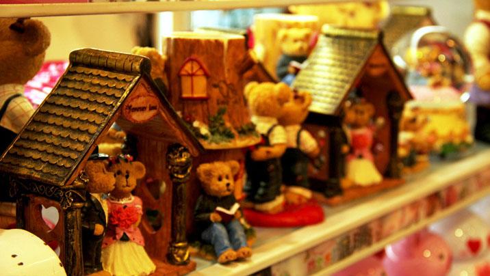 玩具熊专卖店设计
