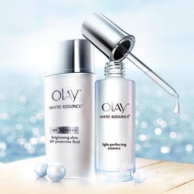 OLAY玉兰油护肤品牌专柜设计